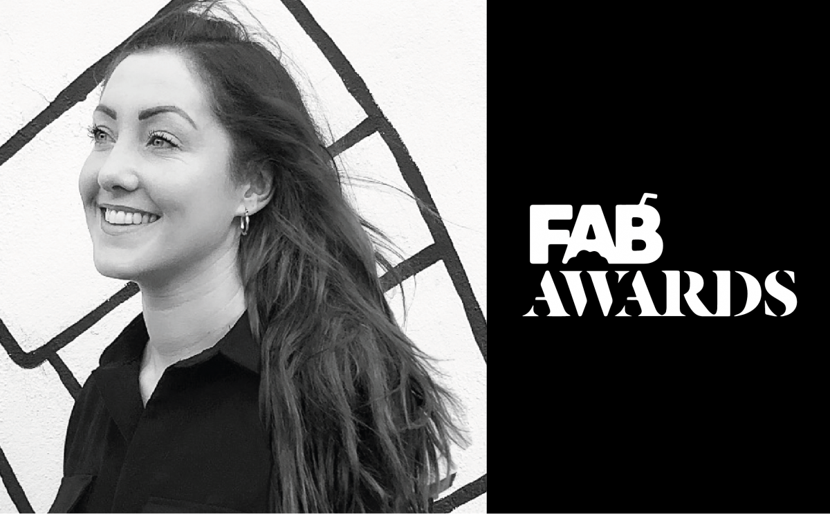 Jennie Judging FAB AWARDS