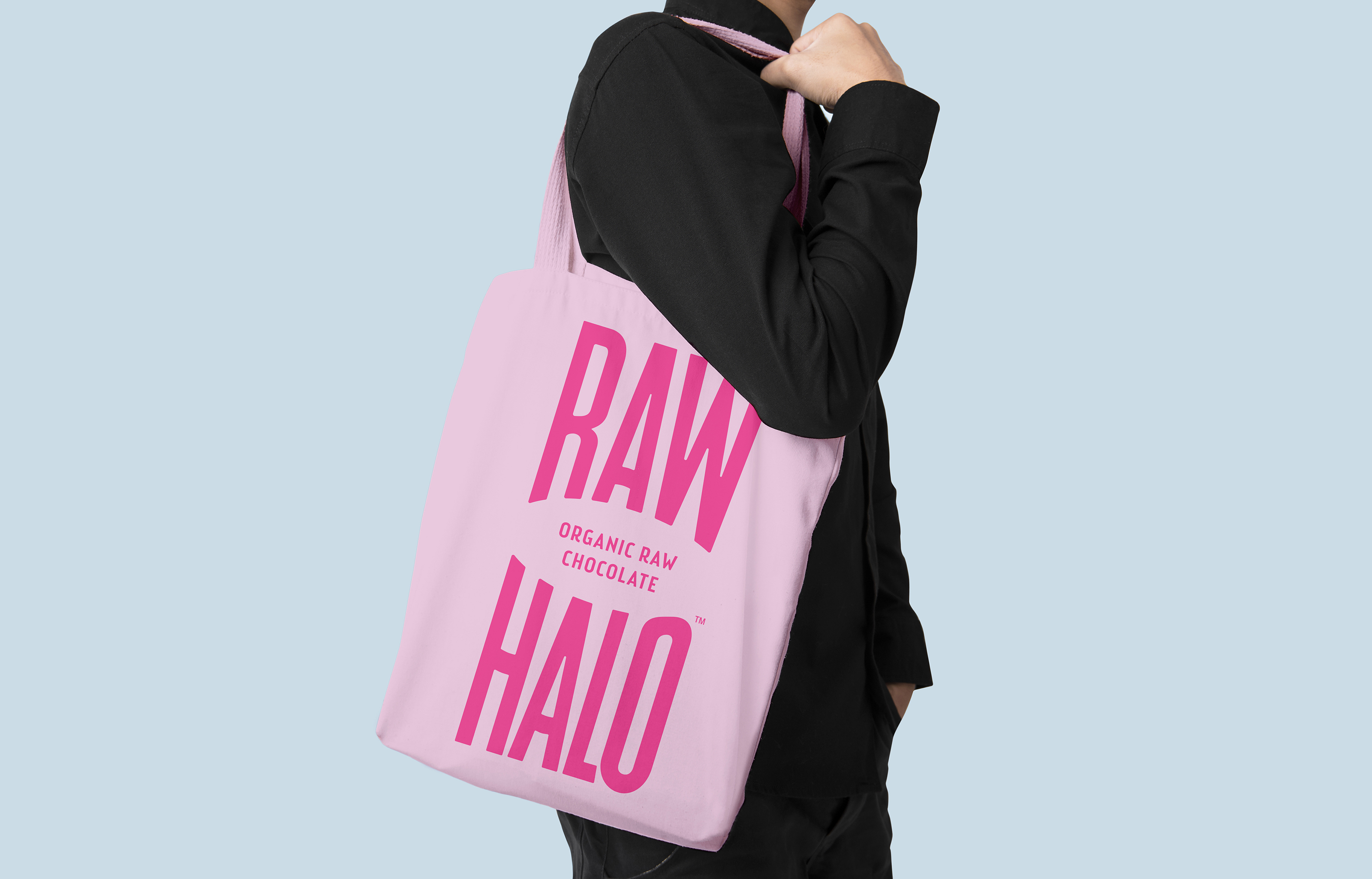 Raw Halo Tote Bag