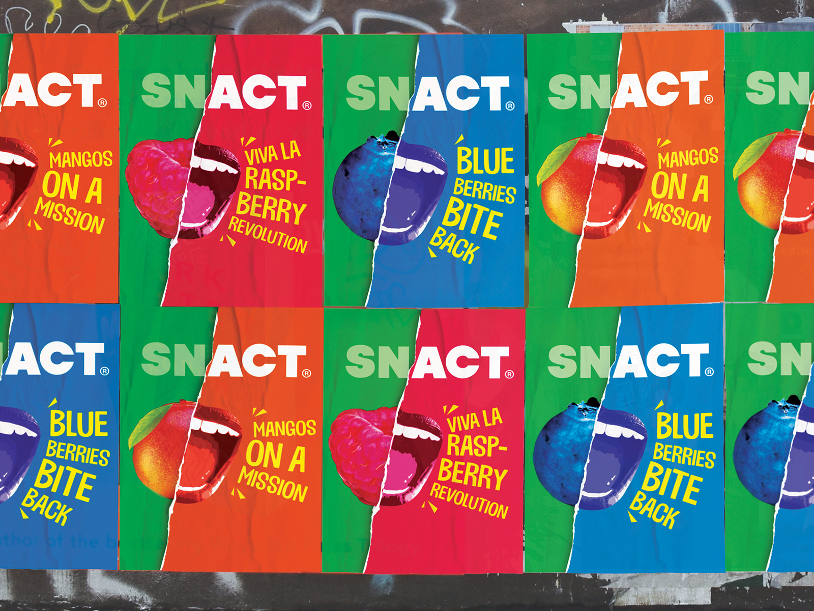 Snact Poster Wall Crop